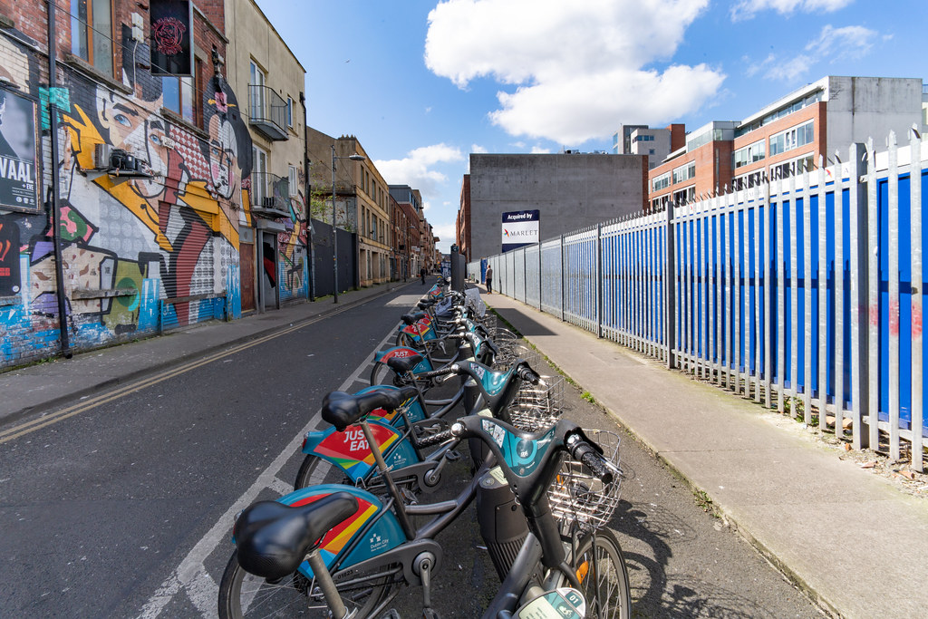 DUBLIN BIKES STATION 46 GREAT STRAND STREET 001