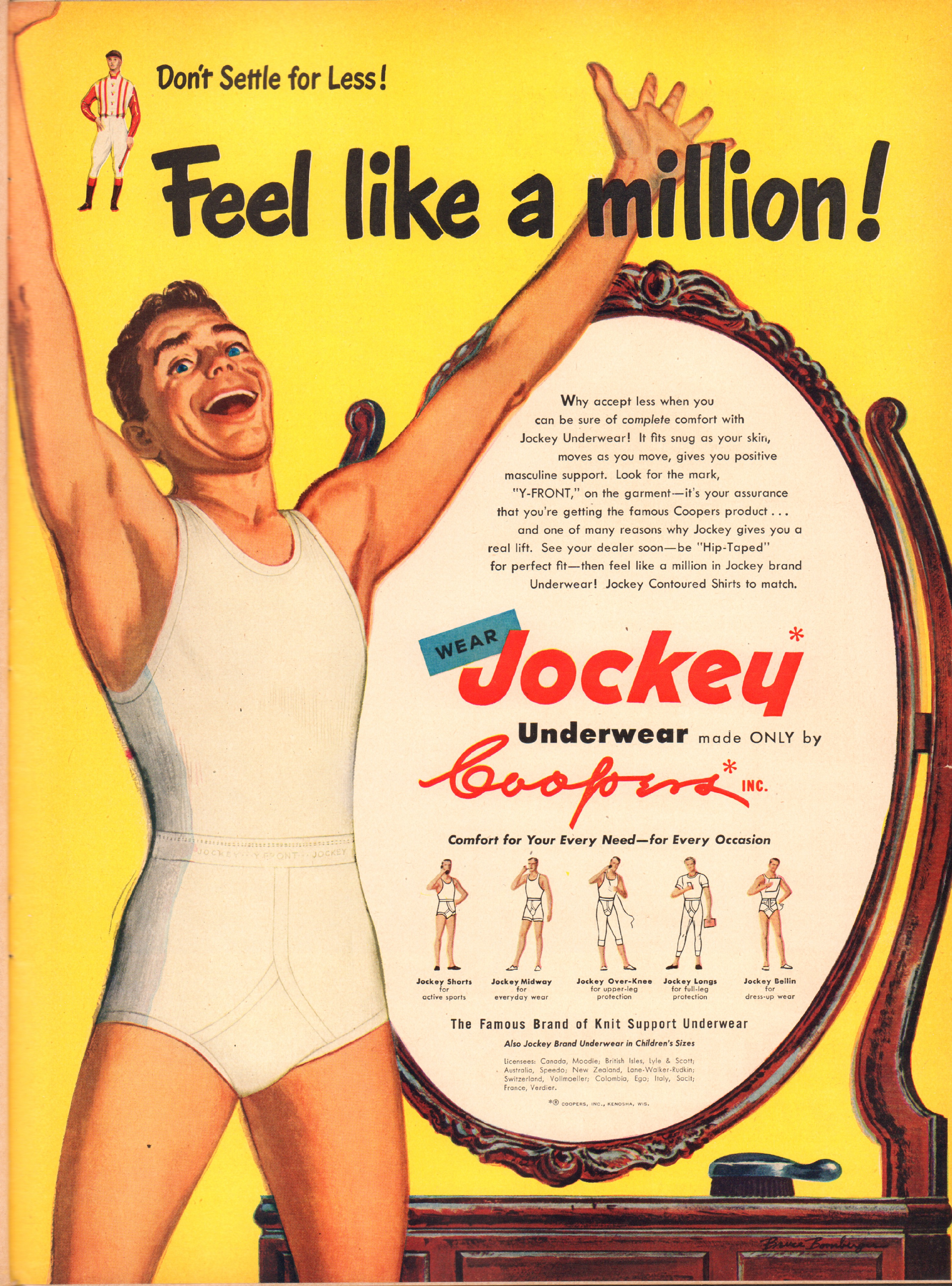 Jockey - published in Life - March 27, 1950
