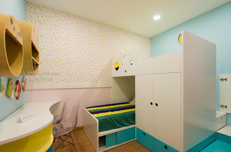 Phòng ngủ cho bé nhà mẫu Celadon City