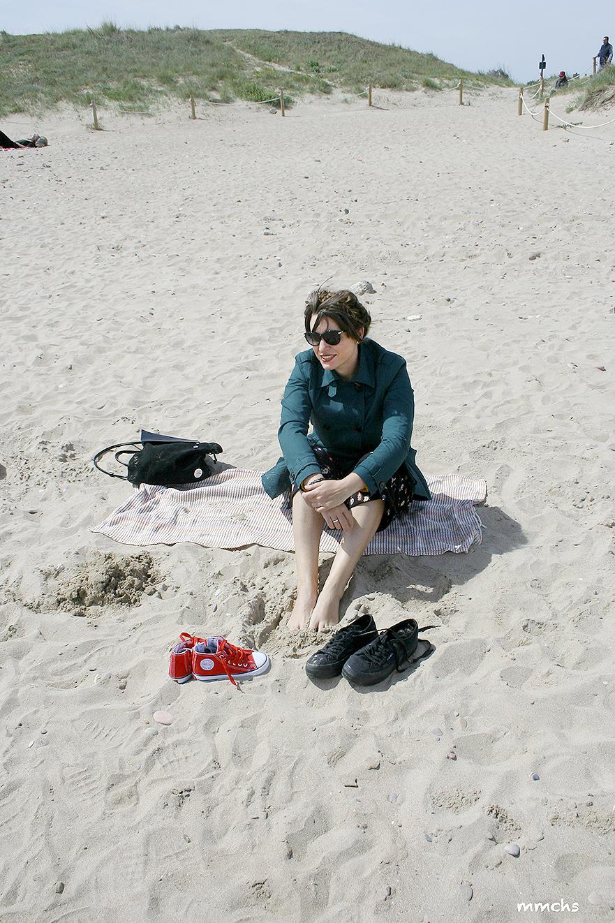 mamirrachadas en la playa