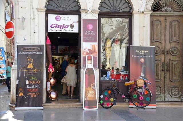 Ginja shop, Coimbra