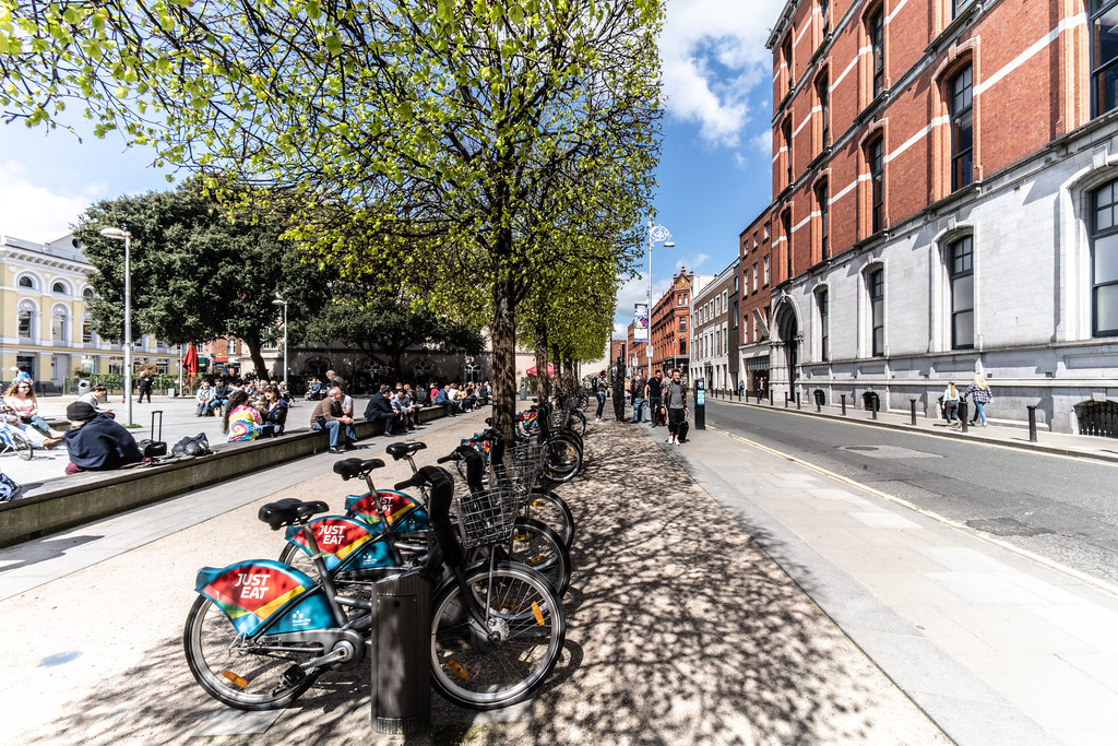DUBLIN BIKES DOCKING STATION 40 JERVIS STREET