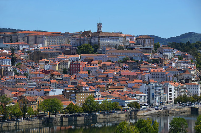 Coimbra from the south bank