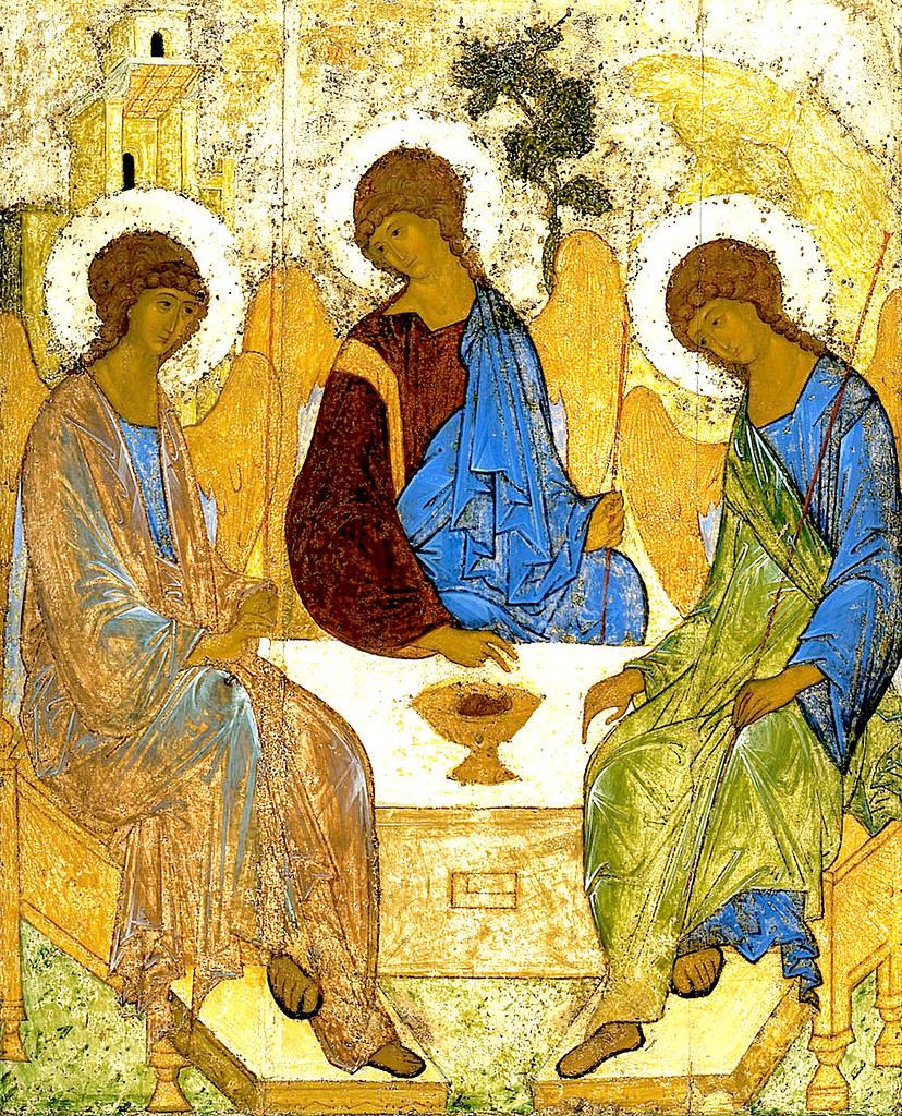Троица Рублёва.