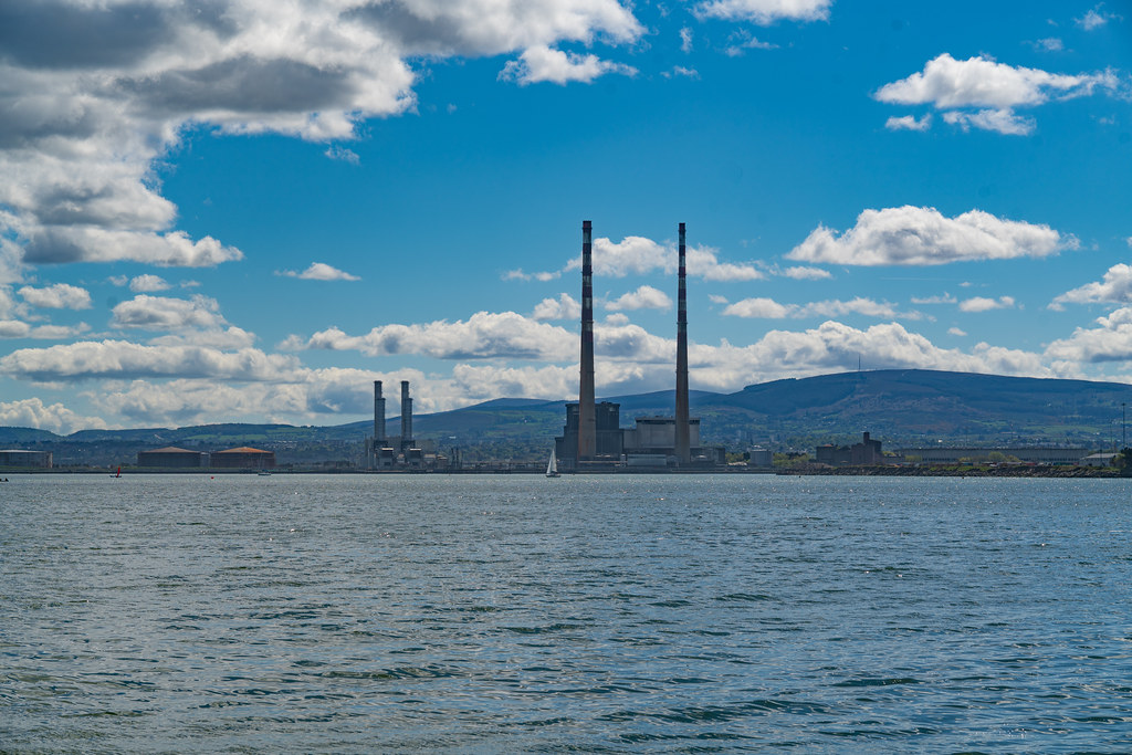 THE POOLBEG STACKS AS SEEN FROM CLONTARF 003