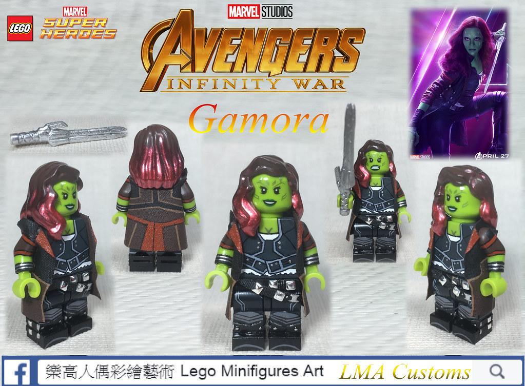 MOC LEGO Avengers :Infinity War -Gamora   LMA Customs   Flickr