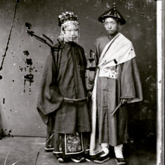Chinese couple - John Thomson Exhibition