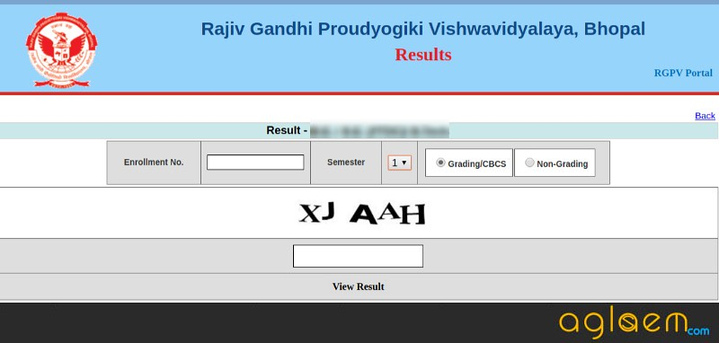 RGPV Result 2018 announced by Rajiv Gandhi Proudyogiki
