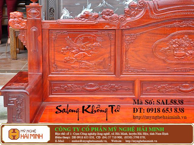 SAL5838f Salong Khong Minh do go my nghe hai minh