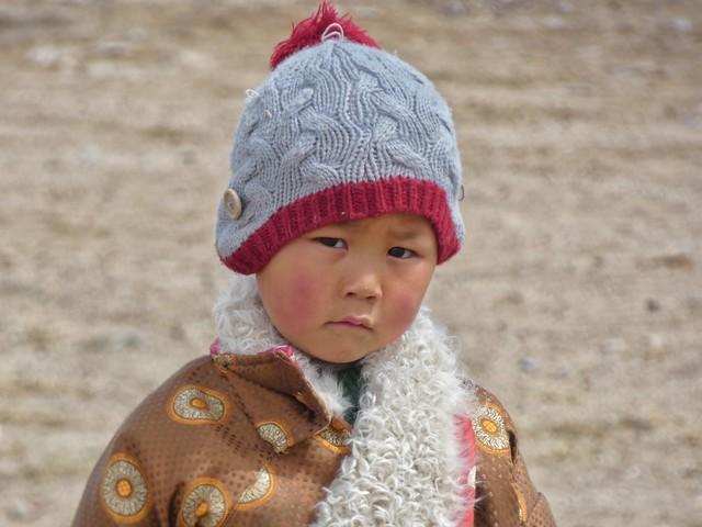 Niño tibetano