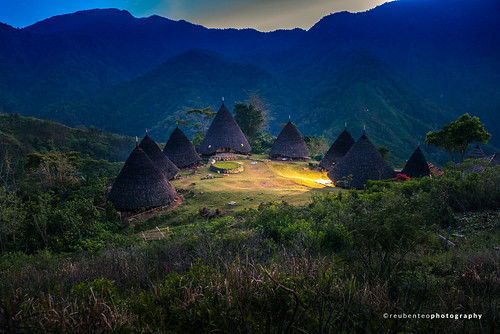 Sunrise at Wae Rebo Village, Flores | by reubenteo