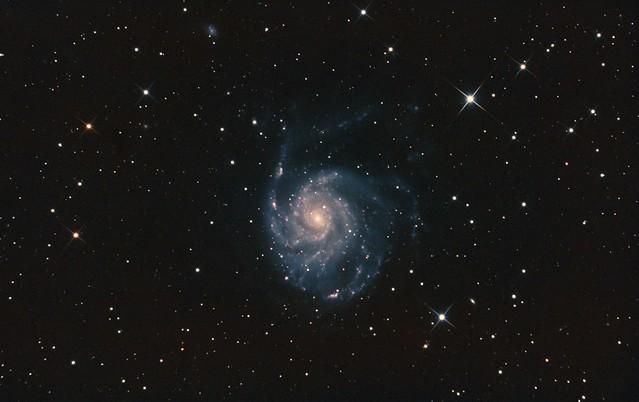 VCSE - Az M101 galaxis felvétele - Majoros Attila