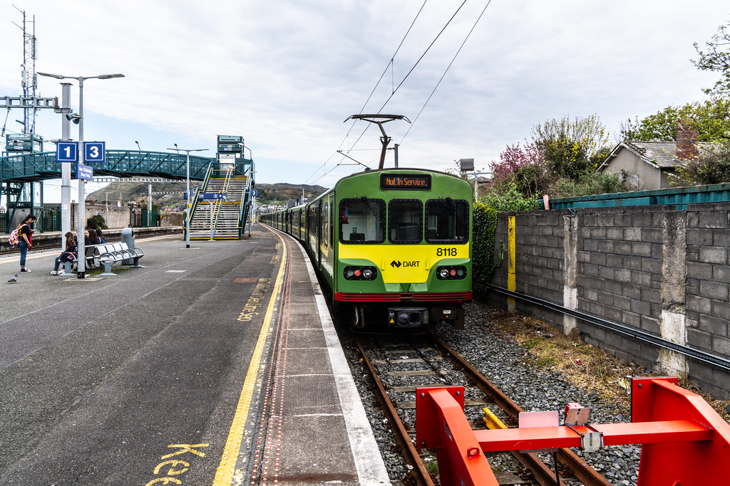 APRIL 2018 VISIT TO DALY RAILWAY STATION IN BRAY COUNTY WICKLOW 001