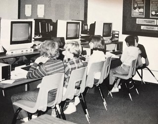 Gloria Dei Lutheran School Atari lab | by blakespot