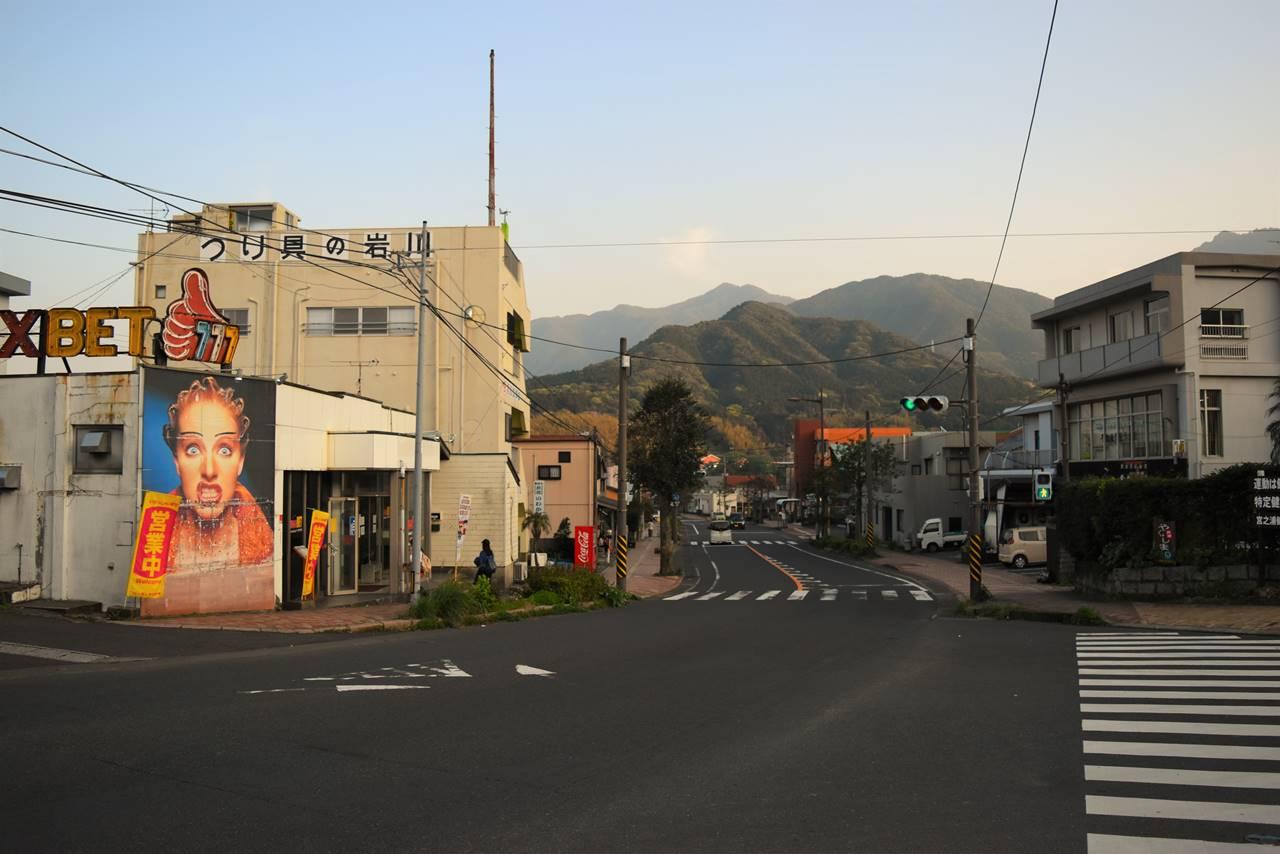 屋久島の街並み