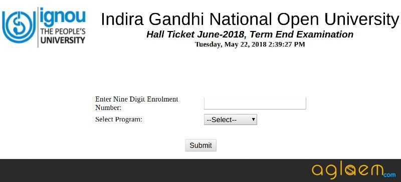 IGNOU TEE Hall Ticket 2018 Released; Delhi / NCR Students Can Download it Next Week