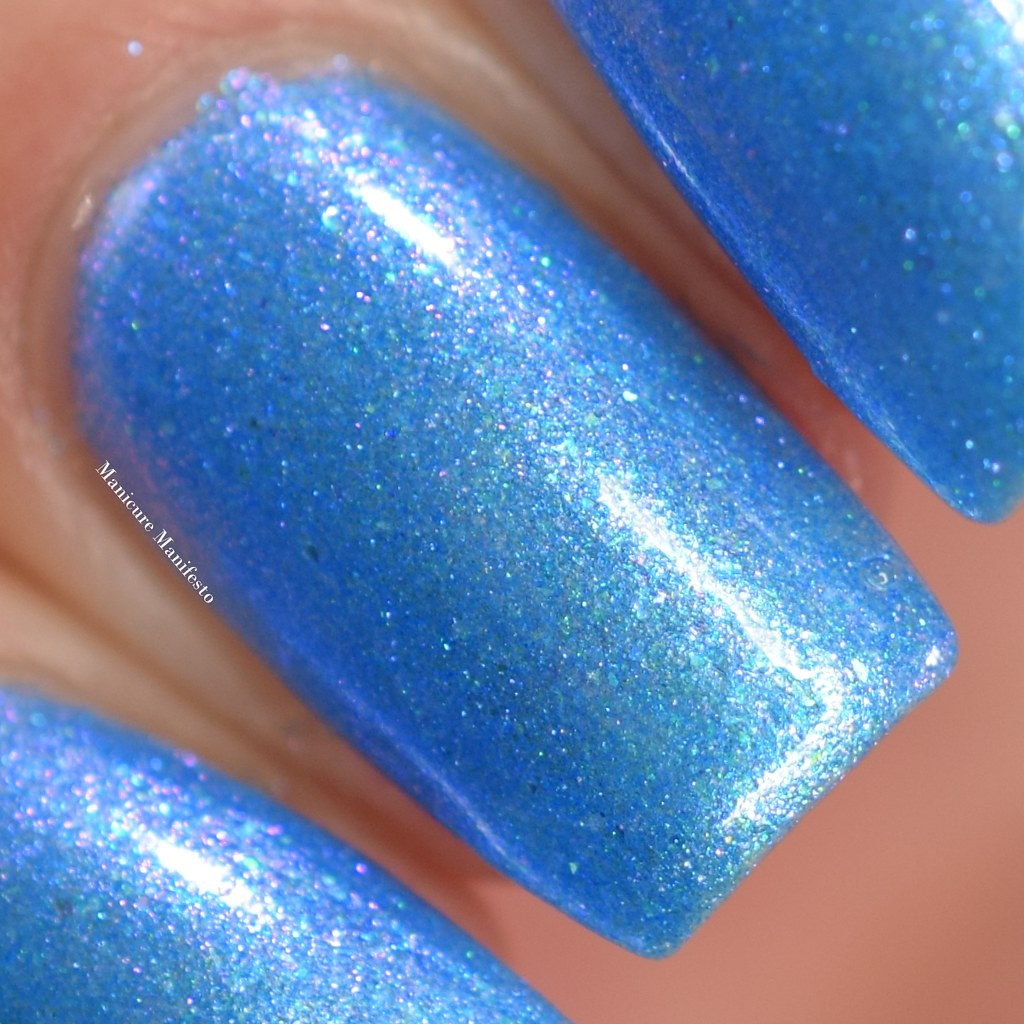 Paint It Pretty Polish Blue Me Away At IEC swatch