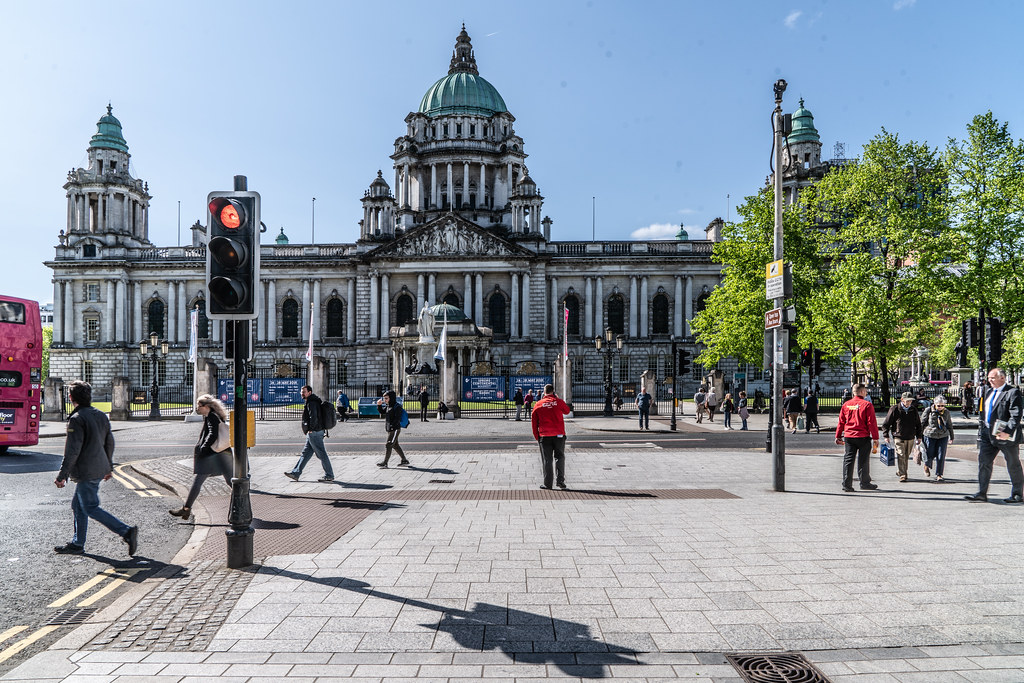 BELFAST CITY HALL - PHOTOGRAPHED MAY 2018