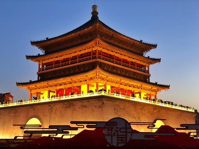 Torre de la campana (Xi'an, China)