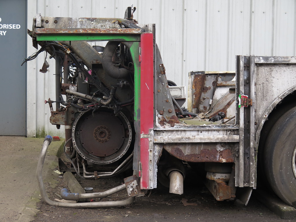 Volvo Olympian 10.3m chassis - perimeter frame kicking up …   Flickr