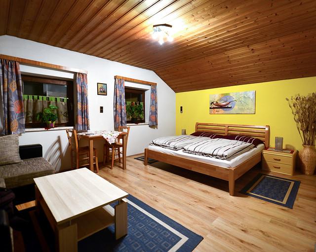 Nuestro alojamiento de madera en Hallstatt