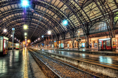 Milan Train Station at Midnight | by Trey Ratcliff