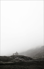 church in fog | by wvs