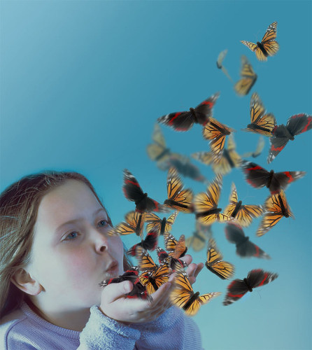 Blowing-butterflies | by hannah_edwards