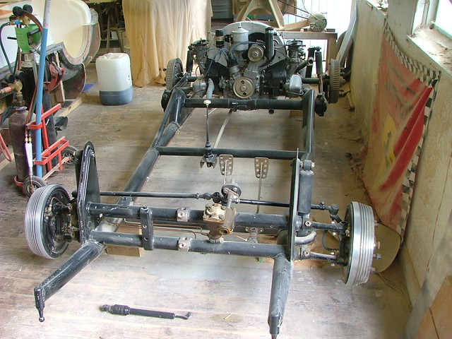 Porsche 550 Spyder Chassis The Chassis Has Been Made