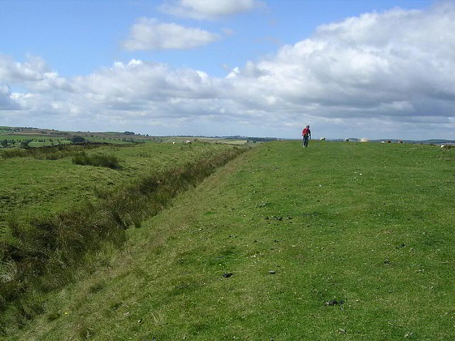 Ditch at Carvoran