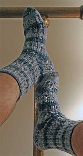 First Socks, Completed | by panopticon