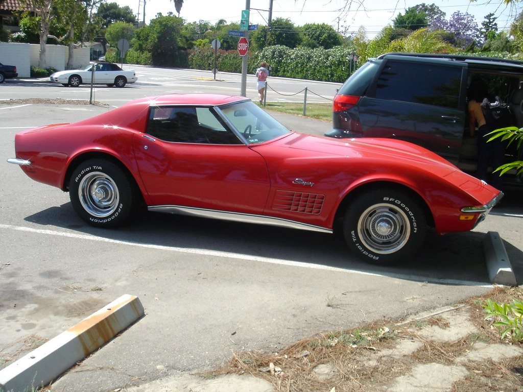 1972 Chevy Stingray Corvette I Love This Car In Red