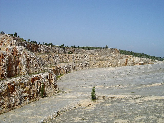 Monumento natural das pegadas de dinoss urios das serras d - Natura portugal ...