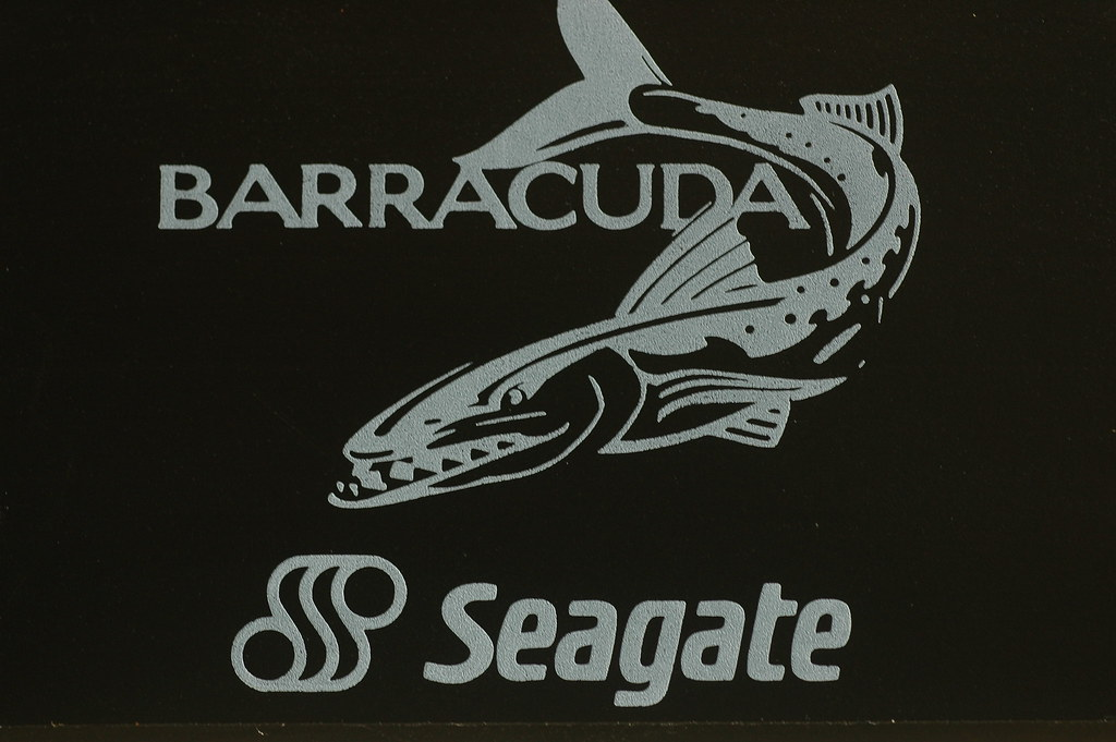 seagate barracuda fish logo i have allways been a sucker