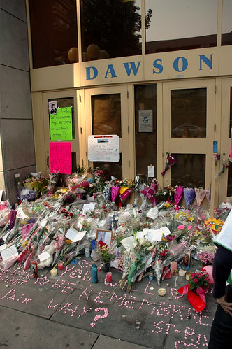 Memorial To The September 13 2006 Dawson College Shooting