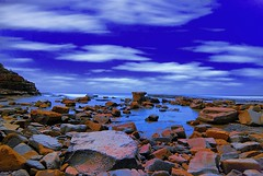 Rocky Beach at Night | by 'Bobesh