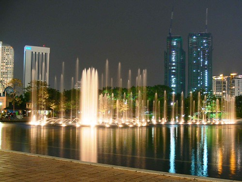 Fountain Shot At Night | by Ahmed Rabea