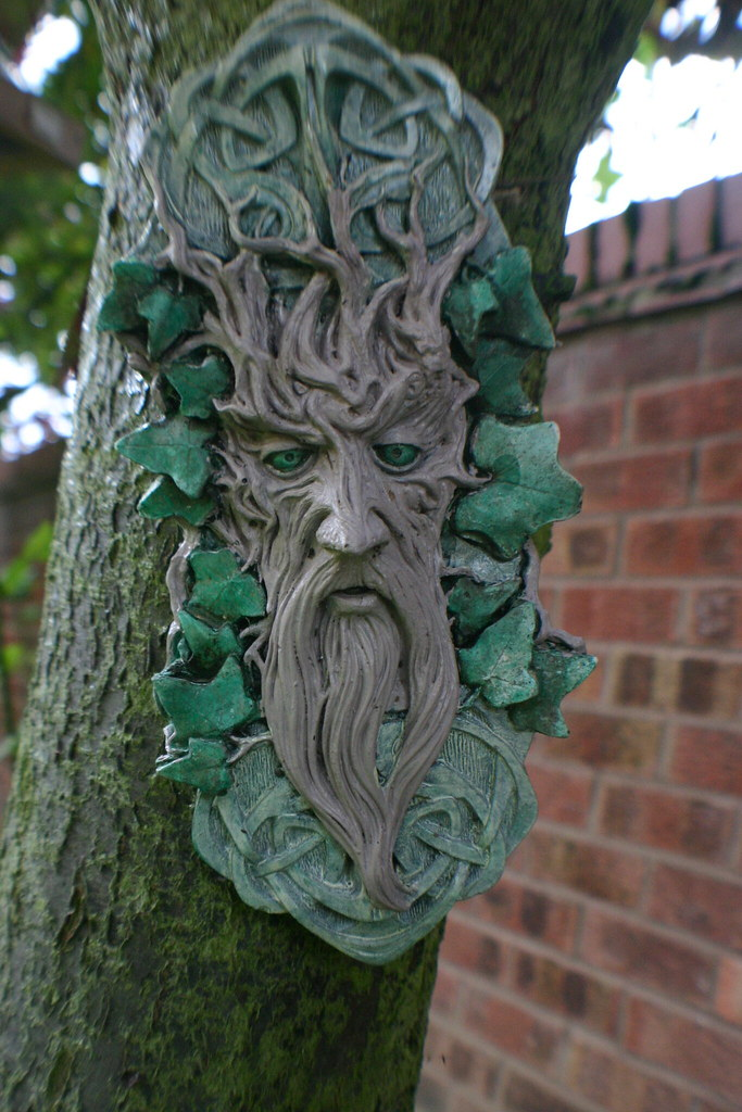 ... Green Man Garden Ornament | By Sinjy And Sadie