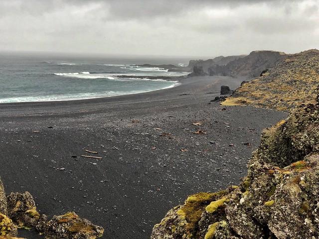 Djúpalónssandur, la playa de lava negra de Snaefellsnes (Islandia)