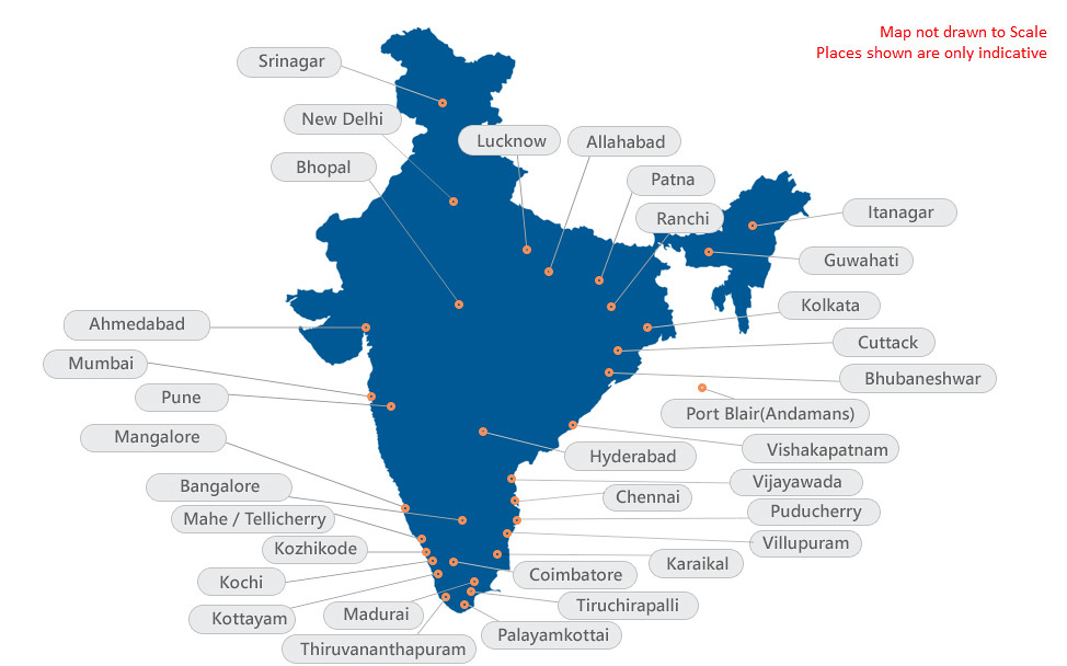 Pondicherry University Admit Card 2018, Exam Centers