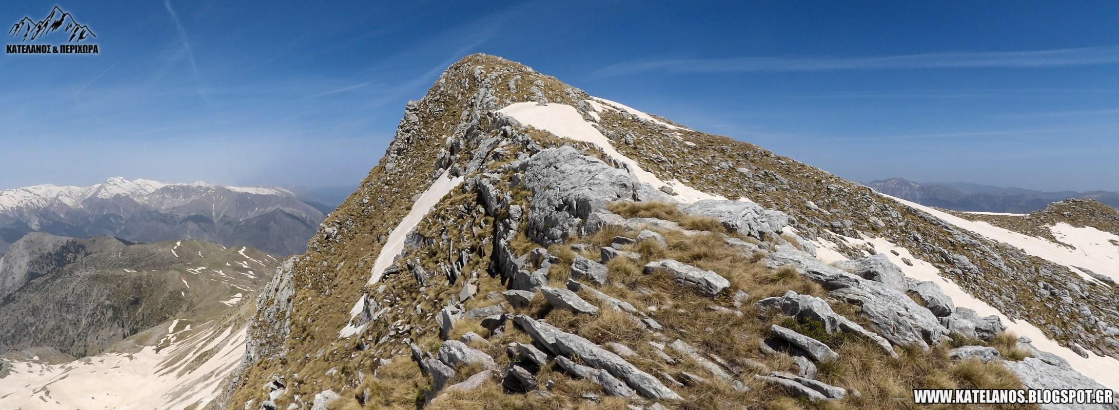 κορυφη ορος χατζη βουνο