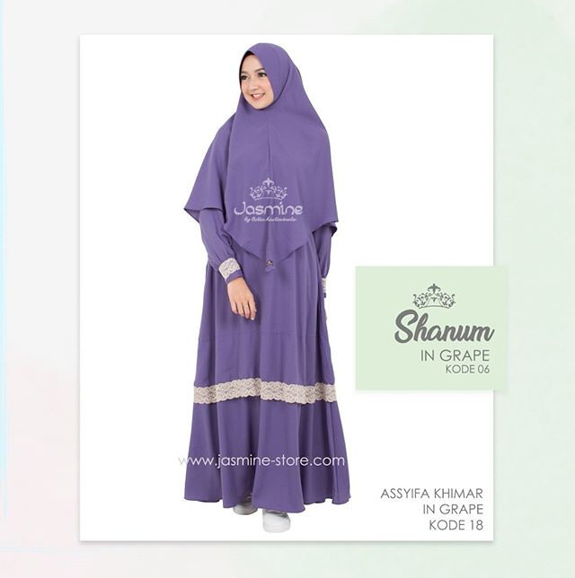 Gamis Jasmine Shanum Dress 06 Baju Gamis Wanita Busana M Flickr