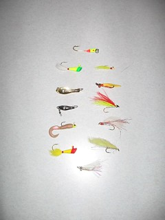 Photo of  popular hickory shad lures