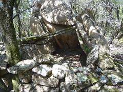 Petit enclos en allant rejoindre le sentier du canyoning