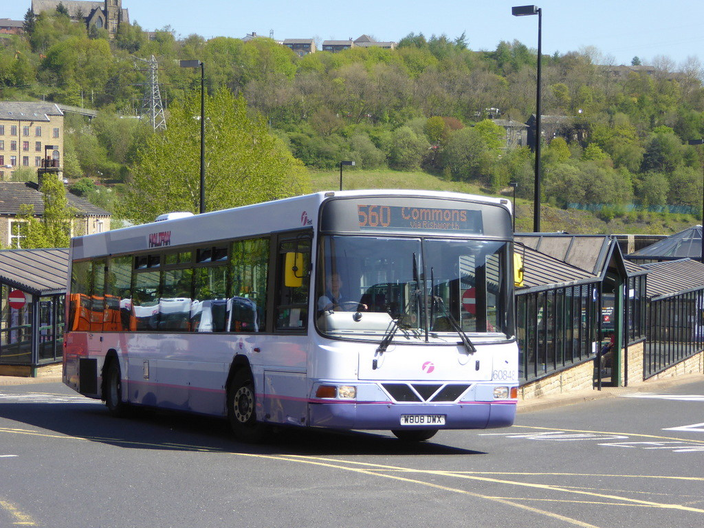 first west yorkshire 60848 w808 dwx on 560, halifax bus st… | flickr