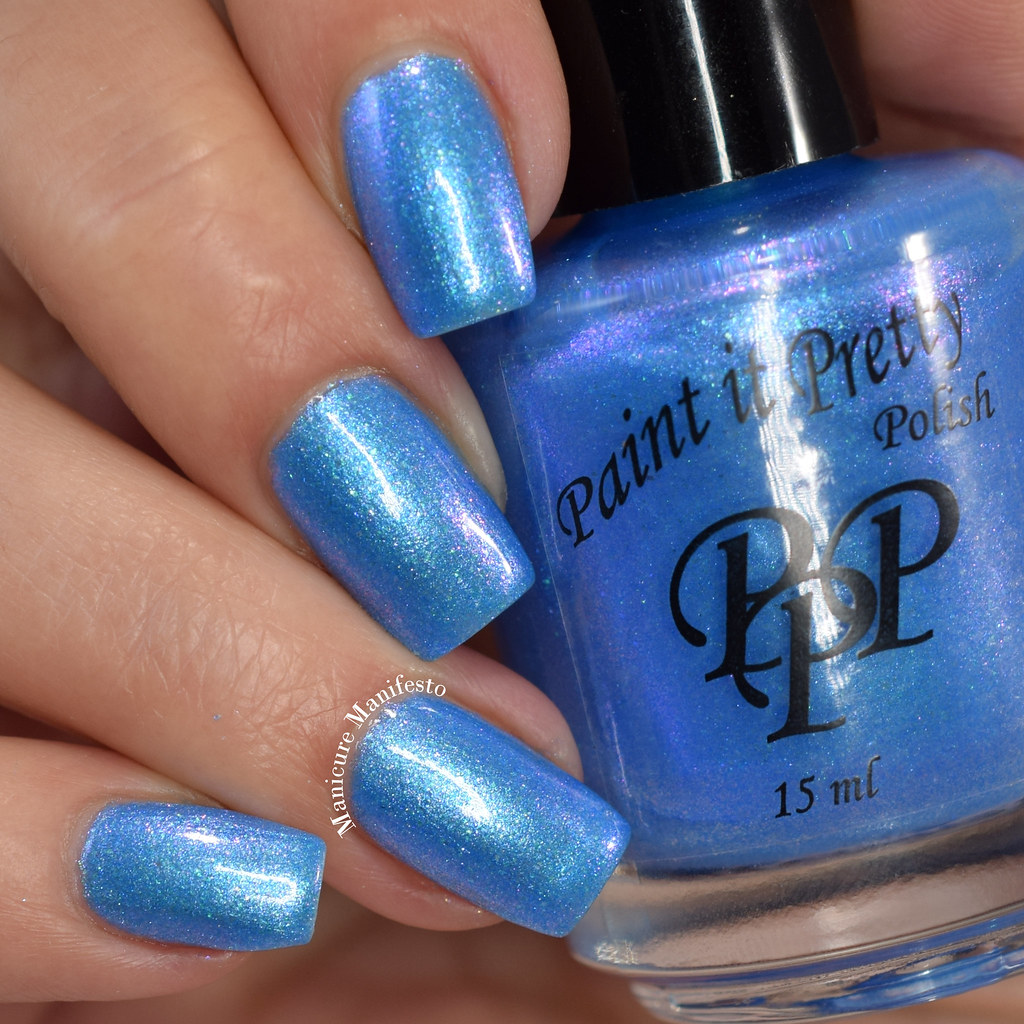 Paint It Pretty Polish Blue Me Away At IEC
