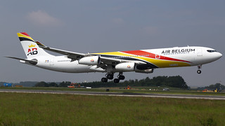 OO-ABA A340-313 Air Belgium | by Mark Remmel