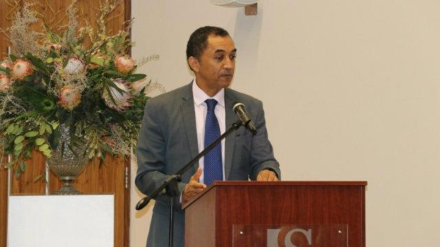Keynote Speaker Professor Derrick Swartz, Vice-Chancellor Nelson Mandela University