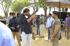 NaaPeruSuryaNaaIlluIndia Movie Working Stills