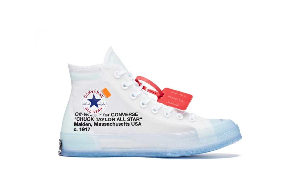 Converse x OFF Blanco Chuck Taylor All Star 70 70 70 132b1d